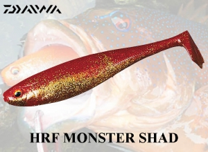 DAIWA HRF MONSTER SHAD / Red-Gold