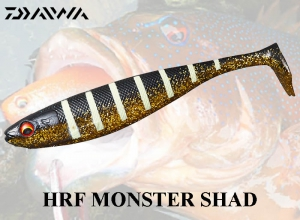 DAIWA HRF MONSTER SHAD / Strong Smell Squid Zebra