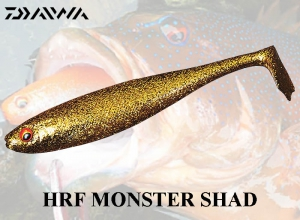DAIWA HRF MONSTER SHAD / Gold Gold