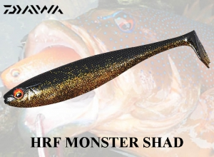 DAIWA HRF MONSTER SHAD / Black-Gold
