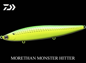 60%OFF DAIWA MORETHAN MONSTER HITTER 156F LC-Dotted gizzard shad