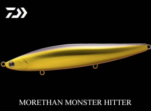 60%OFF DAIWA MORETHAN MONSTER HITTER 156F Stain Gold