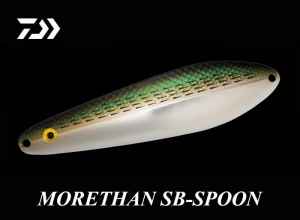 Summer sale DAIWA MORETHAN SB-SPOON 35g Dotted Gizzard Shad