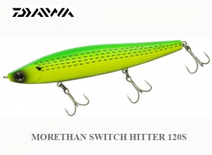 DAIWA MORETHAN SWITCH HITTER 120S / LC Dotted Gizzard Shad