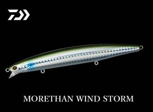 DAIWA MORETHAN WIND STORM 135F 3D Baby Mullet