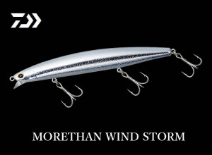DAIWA MORETHAN WIND STORM 135F Reaction White