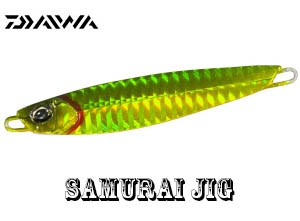DAIWA SAMURAI JIG 100g PH Green Gold