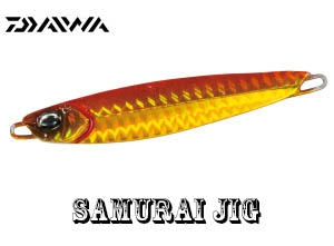 DAIWA SAMURAI JIG 100g PH Red Gold