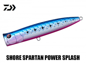 DAIWA SHORE SPARTAN POWER SPLASH 110F Blue Pink Sardines