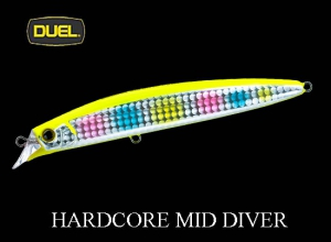 DUEL 2019 HARDCORE MID DIVER 115mm HCCA