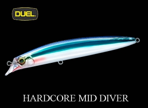 DUEL 2019 HARDCORE MID DIVER 115mm HKN