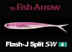 Garage sale Flash-J Split 4inch SW #101 Pink Silver