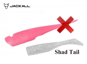BIG BACKER SOFT VIB SPARE BODY / SHADTAIL / Glow Pink