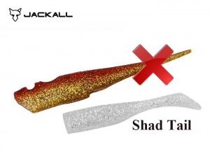 BIG BACKER SOFT VIB SPARE BODY / SHAD TAIL / Red Gold