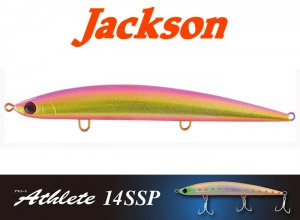 Jackson Athlete14SSP Sinking Pencil / Pink Gold Dust