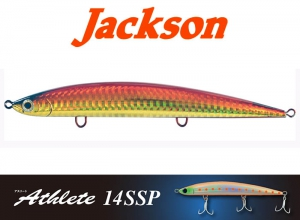 Jackson Athlete14SSP Sinking Pencil / W-Red Gold