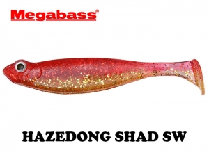 MEGABASS HAZEDONG SHAD SW 4.2inch RED-GOLD