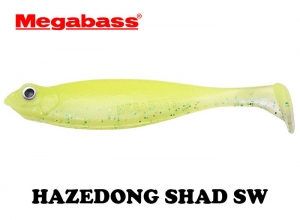 MEGABASS HAZEDONG SHAD SW 4.2inch GLOW CHART LIME