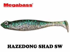 MEGABASS HAZEDONG SHAD SW 4.2inch GREEN SILVER