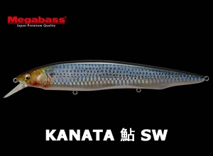 ito ENGINEERING KANATA AYU SW 160 GG Flashing Gizzard Shad