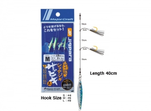 Major Craft Jigpara Micro Shorejig Sabiki Jig Set L-10g