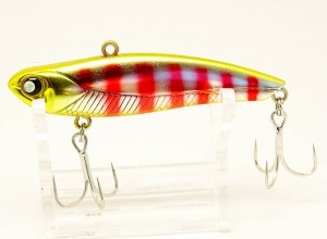 Mukai Fishing Monkey 69 Vib Red Stripe Shad