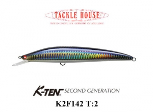K-TEN SECOND GENERTION K2F 142 T-2 108