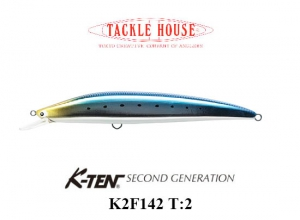 K-TEN SECOND GENERTION K2F 142 T-2 109