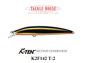 K-TEN SECOND GENERTION K2F 142 T-2 114