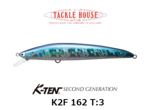 K-TEN SECOND GENERTION K2F 162 T-3 B107