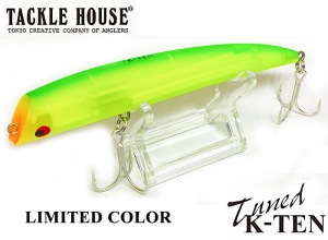 TACKLE HOUSE Tuned K-TEN TKLM120 LIMITED COLOR MAT CLEAR CHART