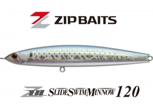 ZIP BAITS ZBL SLIDE SWIM MINNOW 120 #616