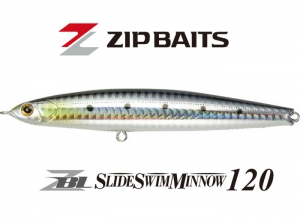 ZIP BAITS ZBL SLIDE SWIM MINNOW 120 #718