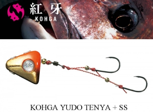 DAIWA KOHGA SLIDING TENYA JIG + SS 45g Orange/Gold