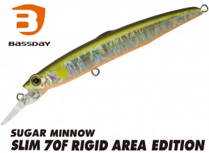 Bassday SUGAR MINNOW SLIM 70F RIGID AREA FL-316