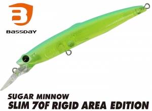 Bassday SUGAR MINNOW SLIM 70F RIGID AREA GG-388