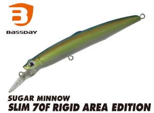 Bassday SUGAR MINNOW SLIM 70F RIGID AREA P-424