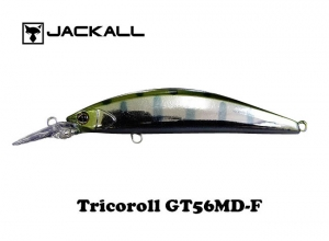 JACKALL Tricoroll GT 56MD-F Silver Yamame