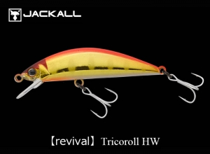 JACKALL Tricoroll 47HW Red Gold Yamame