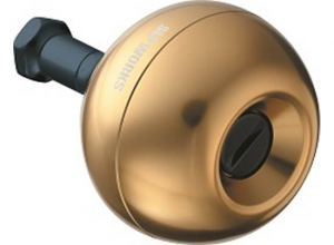 SLPW Aluminum ROUND knob / Gold / SIZE-L (2020 February debut)