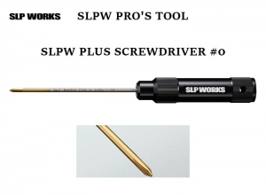 SLPW PROS TOOL SLPW PLUS SCREWDRIVER #0