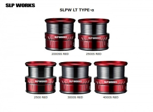 DAIWA SLP WORKS SLPW LT TYPE-alpha SPOOL 2000SS RED