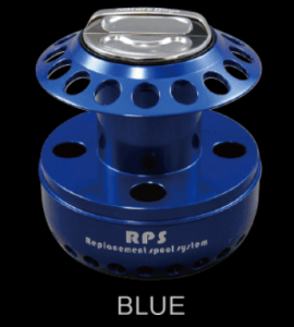 Replacement Spool System RP BASE KIT SALTIGA 4500/5000 Blue