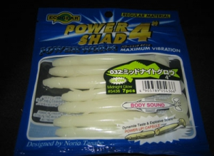 POWER SHAD 4 inch color 032