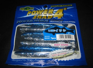 POWER SHAD 4 inch color 168