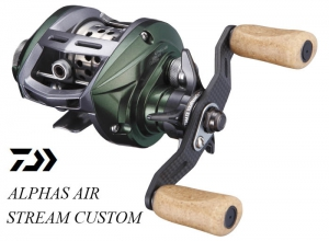 DAIWA ALPHAS AIR STREAM CUSTOM 7.2L (FREE SHIPING)