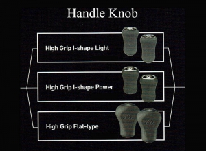 5 STEEZ SV TW SEMIORDER SYSTEM HANDLE KNOB I-Shape-Light