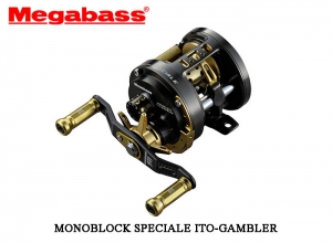 MEGABASS MONOBLOCK SPECIALE ITO-GAMBLER / Left (FREE SHIPPING)