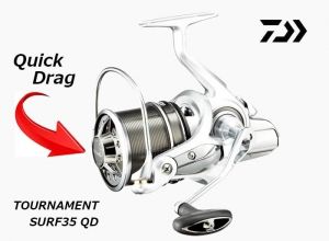 2018 DAIWA TOURNAMENT SURF 35 QD (Free Shipping)