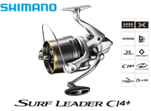 SURF LEADER CI4+ 35 SUPER THIN MODEL(Non Drag Type) Free Shipping